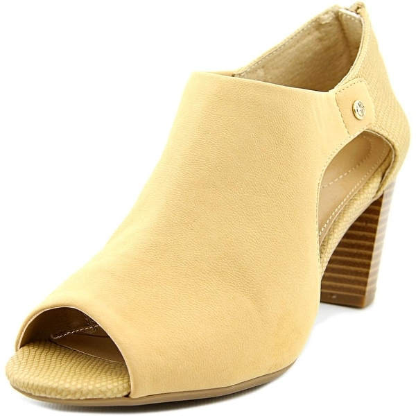 Giani Bernini Menaabei Women Open-Toe Synthetic Nude Bootie