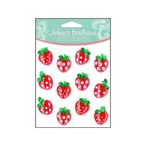 EK Jolee's Boutique Cabochons Strawberry