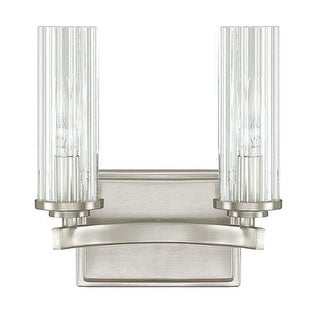 """Donny Osmond Home 8042-150 2 Light 8.5"""" Wide Bathroom Fixture from the Emery Collection"""