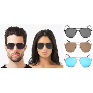 PRIVÉ REVAUX The Marquise Handcrafted Designer Polarized Aviator Sunglasses For Men & Women