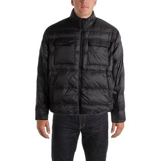 Hawke & Co. Mens Down Packable Puffer Coat