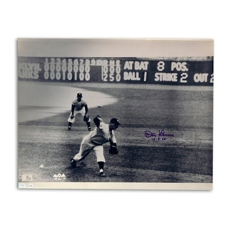 """Don Larsen New York Yankees Autograhed 16x20 Photo Inscribed """"10-8-56"""" -Perfect Game in the World Series-"""