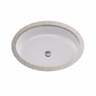 """Toto LT233 Atherton? 18-3/8"""" Vitreous China Undermount Bathroom Sink with Concealed Overflow"""