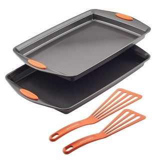 Link to Rachael Ray Nonstick Bakeware Cookie Pan Set, 4-Piece Similar Items in Bakeware