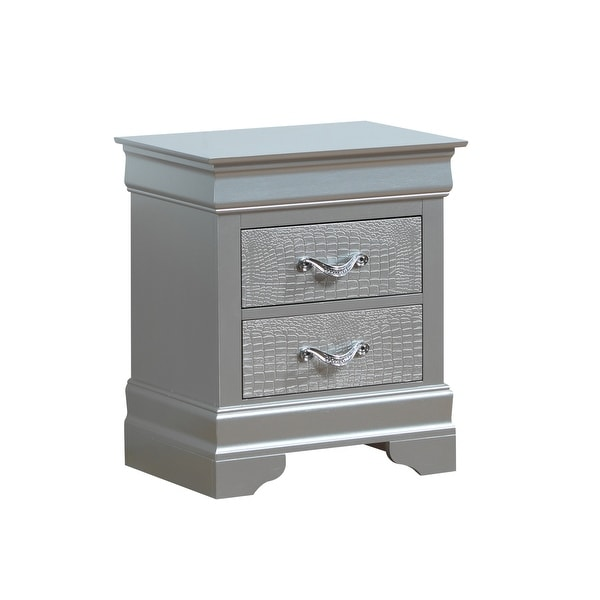 Lorana 2-drawer Wooden Nightstand. Opens flyout.