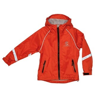 Showers Pass Children's/Youth Little Crossover Cycling Jacket - 4136 - Chili Pepper