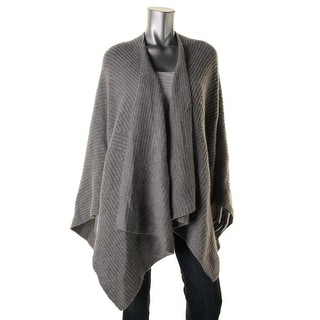 Private Label Womens Wool Knit Shawl/Wrap - XS/S