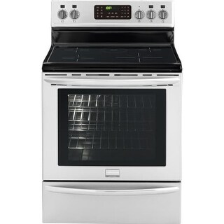 Frigidaire FGIF3061NF 30 Inch Gallery Freestanding Electric Range with Induction Cooktop and 5.4 Cu. Ft. Convection Oven,
