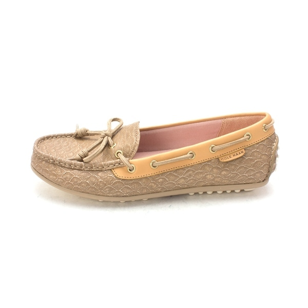 Cole Haan Womens Germainesam Closed Toe Boat Shoes - 6