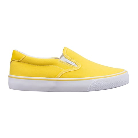 Lugz Clipper Slip On Womens Sneakers Shoes Casual - Yellow