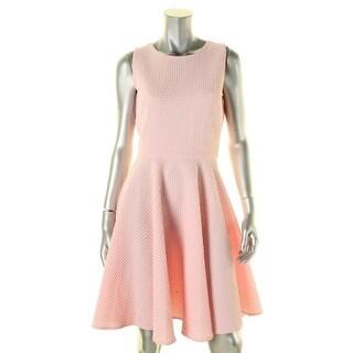 Gabby Skye Womens Casual Dress Jacquard Textured - 8
