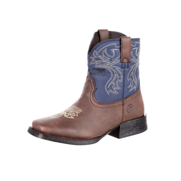 Shop Durango Western Boots Girls Little Kid Outlaw Square