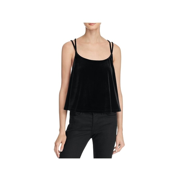 a5d80083569 Shop Likely Womens Morgan Crop Top Crisscross Back Scoop Neck - Free  Shipping On Orders Over $45 - Overstock.com - 18521402