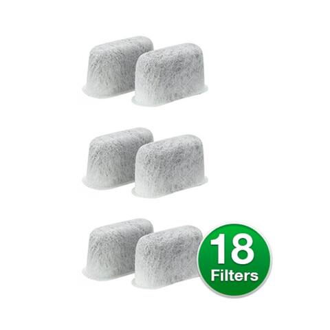 Replacement Charcoal Water Filter For Cuisinart CBC-6400PC Coffee Machines (3 Pack)