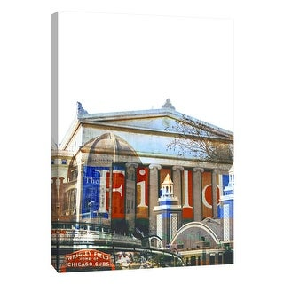 """PTM Images 9-109099  PTM Canvas Collection 10"""" x 8"""" - """"Field Museum"""" Giclee Chicago Art Print on Canvas"""