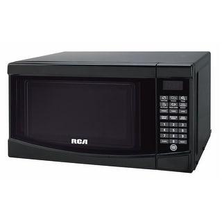 Rca Rmw733-Black Microwave Oven, 0.7 Cu. Ft., Black