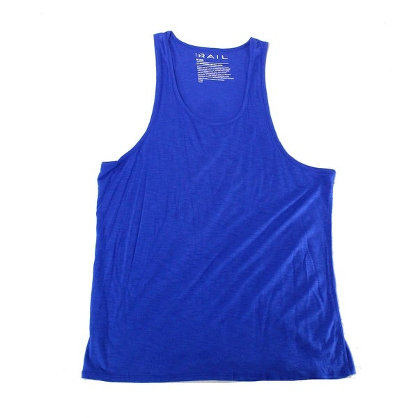 c2f05ac717c87d Shop The Rail Hyper Mens Space-Dye Stretch Scoop-Neck Tank - Free Shipping  On Orders Over  45 - Overstock.com - 27000762