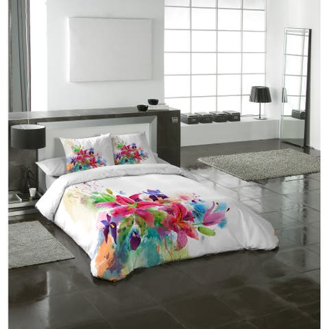 Gouchee Home Lilies Duvet Cover Multi Piece Set