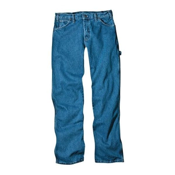 "Dickies Men's Loose Fit Carpenter Jean 30"" Inseam Navy Combo"