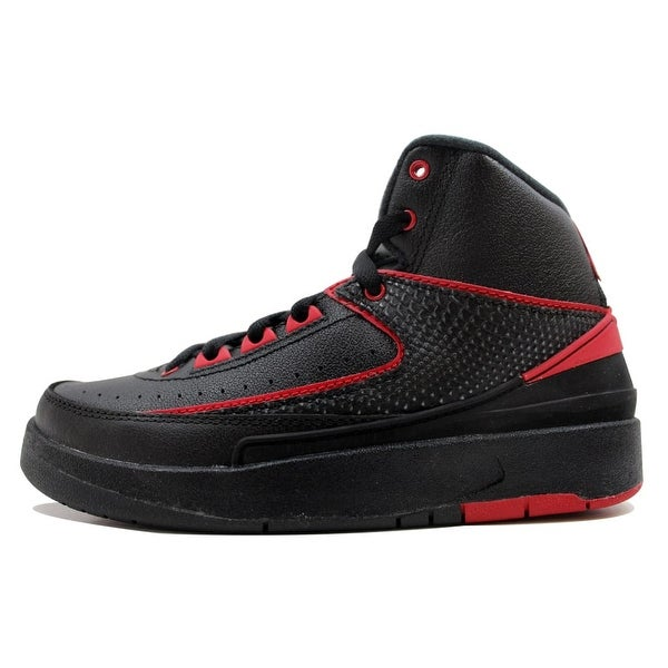 95818a4fc91 Nike Grade-School Air Jordan II 2 Retro Black/Varsity Red Alternate 87  834276