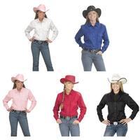 Women's Button Down Cotton Western Cowboy Shirt