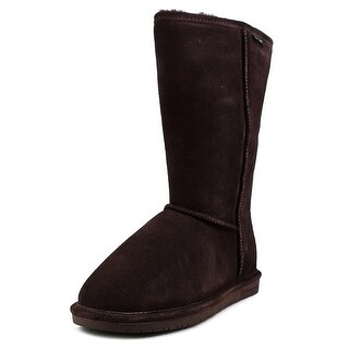 Bearpaw Emma Tall Women  Round Toe Leather Brown Winter Boot