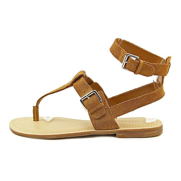 Marc Fisher Womens REILY Leather Open Toe Casual Ankle Strap Sandals - 6