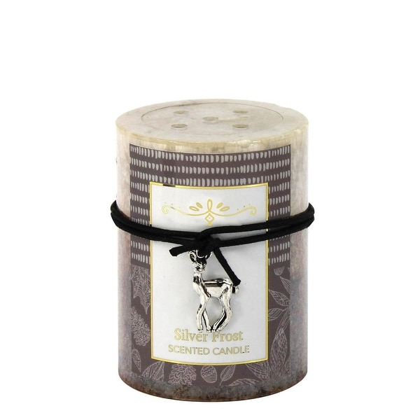 Silver Frost Scented Candle 3X4