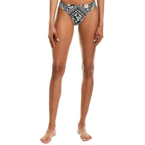 Nanette Lepore Swim Diamond Vine Charmer Bikini Bottom