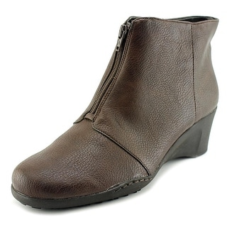 A2 By Aerosoles World Tor Women  Round Toe Synthetic Brown Ankle Boot