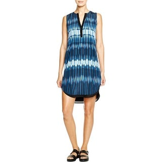 Vince Womens Casual Dress Silk Printed