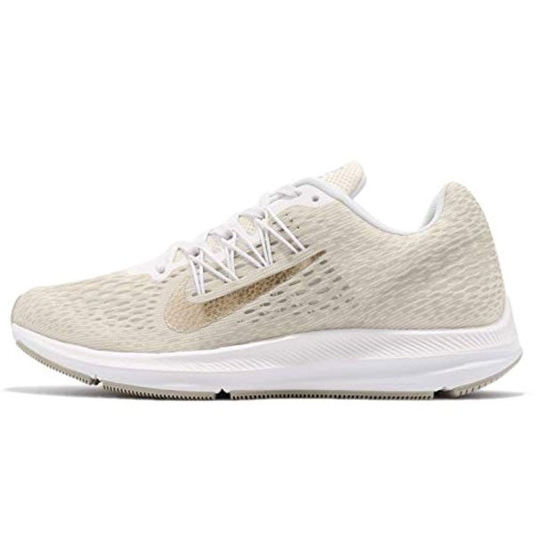 f34745abe02f5 Shop Nike Women s Air Zoom Winflo 5 Running Shoe Phantom Metallic Gold-String-White  - Free Shipping Today - Overstock - 27121891