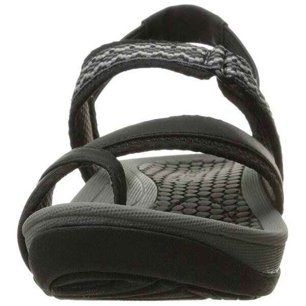 Danique Platform Sandal, Black