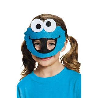 Disguise Cookie Monster Felt Child Mask - Blue