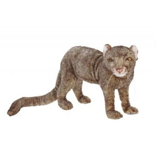 """Link to Pack of 2 Life-like Handcrafted Extra Soft Plush Jaguarondi Stuffed Animals 19.75""""  Similar Items in Stuffed Toys"""