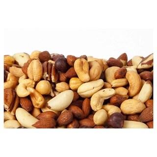 Bulk Nuts Mixed Nuts, Roastedd, No Salt - 9 lb
