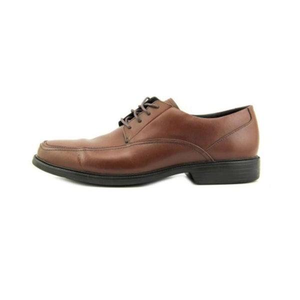 Bostonian Mens Kopper Max Leather Lace Up Dress Oxfords