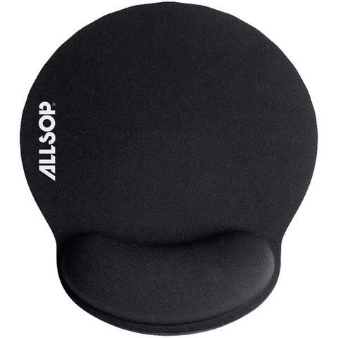 Allsop 30203 Memory Foam Mouse Pad (Black)