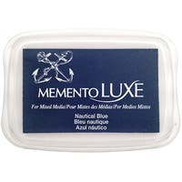Memento Luxe Ink Pad-Nautical Blue