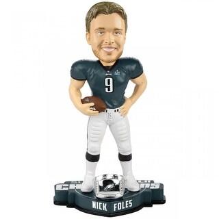 Philadelphia Eagles Nick Foles #9 SBLII MVP Bobblehead - multi