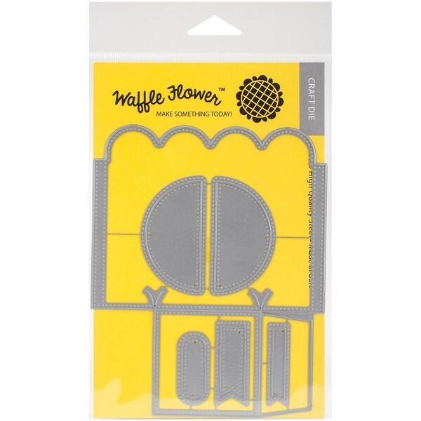 Waffle Flower Die-Petal Holder Template