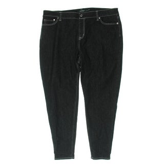 Lauren Ralph Lauren Womens Plus Ankle Jeans Skinny Stretch