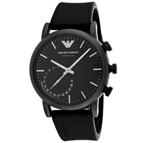 Armani Men's Connected ART3016 Black Dial Watch