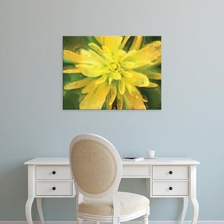 Easy Art Prints Lola Henry's 'Painterly Flower VII' Premium Canvas Art