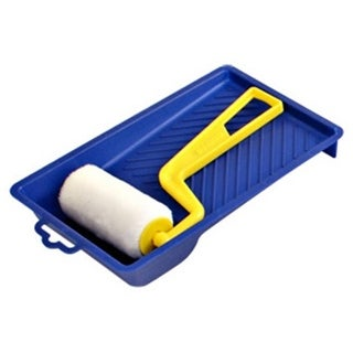 Padco 3770 Nylon Trim Roller and Molded Tray - Blue - Pack of 12