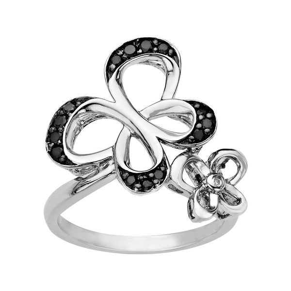 Jessica Simpson 1/4 ct Diamond Butterfly Ring - Multi-Color