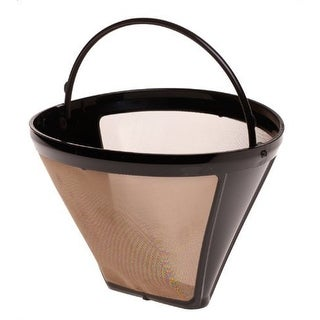 GoldTone Reusable 750.09 Size-4, Cone Style Replacement Coffee Filter, Fits Capresso Coffee Makers and Brewers