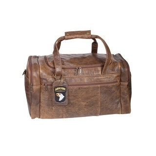 Scully Leather Aerosquadron Collection Duffle Bag - walnut