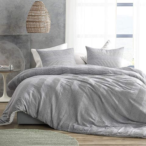 Waffled Gray - Oversized Comforter