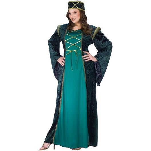 973b7a0fbe Shop Fun World Emerald Lady in Waiting Plus Size Costume - Green - plus size  - Free Shipping Today - Overstock - 15424370